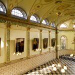 exam hall interior trinity tcd commercial location photograph dublin john jordan photography