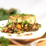 cafe fresh vegetarian recipe puy lentil shepherds pie creative food photograph dublin based john jordan photography