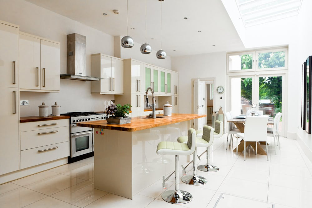 Architectural real estate property photography done for Kitchen ideas dublin