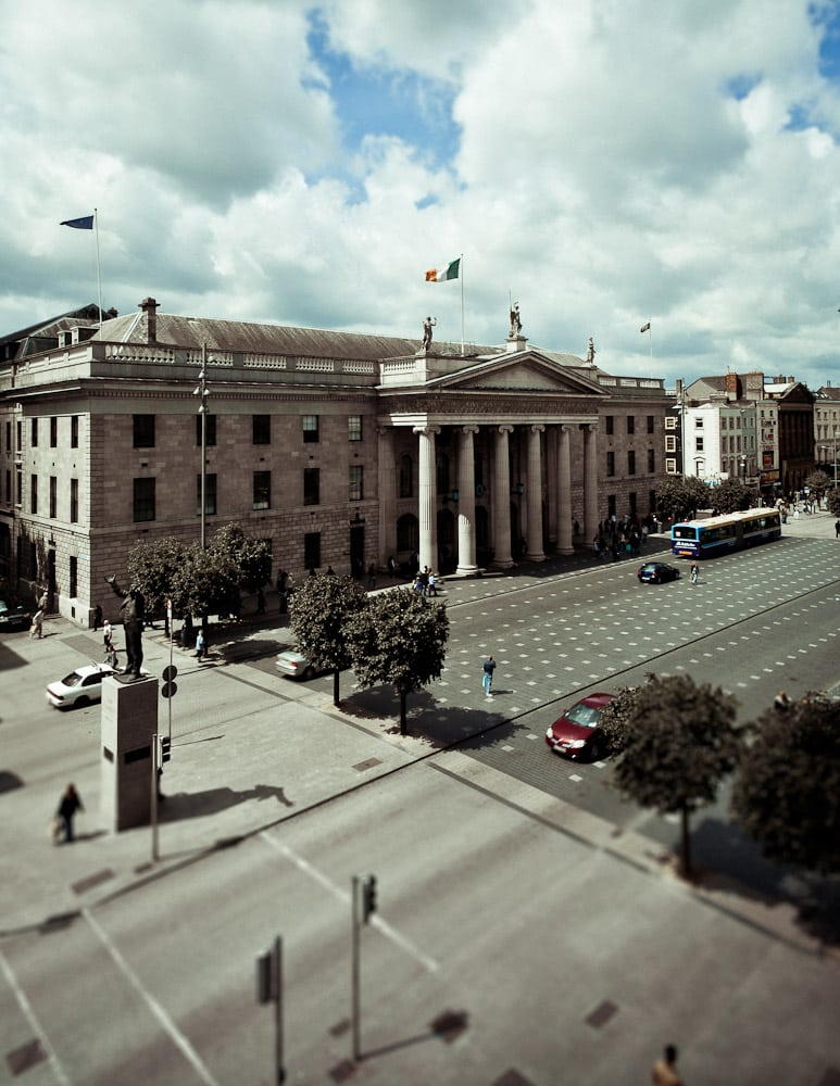 Images of Dublin from the rooftops