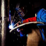 WW1 1914 Craft welding metalwork industrial commemorative tree dublin based johnjordanphotography