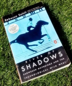 Rebecca Solnit - River of Shadows - book cover - John Jordan Photography